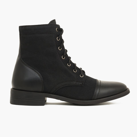 Captain | Black Waxed Twill
