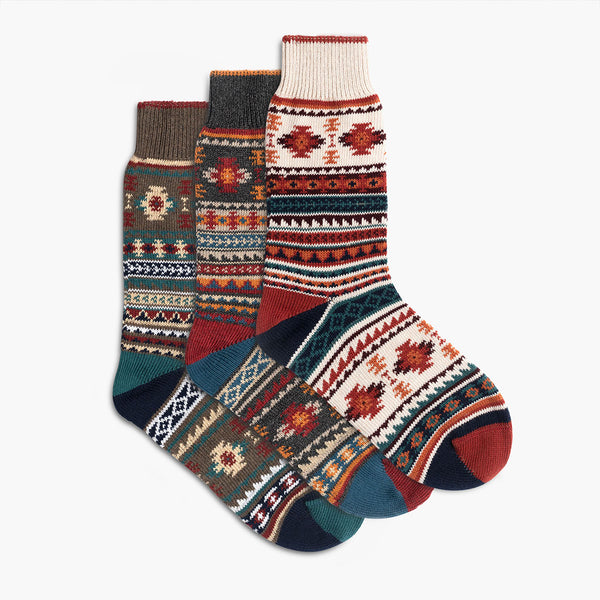 Women's Sodello Southern Sun Sock | 3-Pack