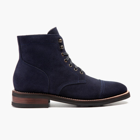 Captain | Midnight Suede