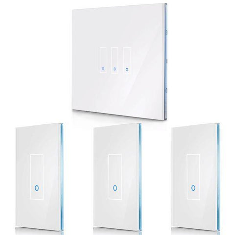 4-Pack - Save 10% (Choose Size & Color) IottySmartHome (1) U3 + (3) U1 White
