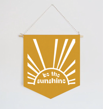 Load image into Gallery viewer, Be the Sunshine Flag