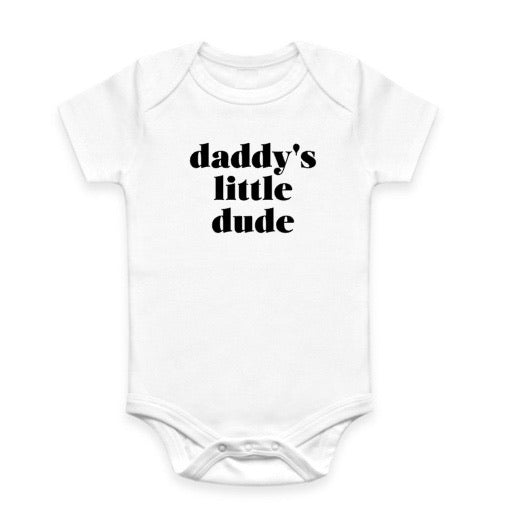 Daddy's Little Dude Bodysuit