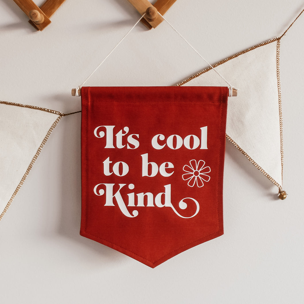 It's Cool to Be Kind Flag