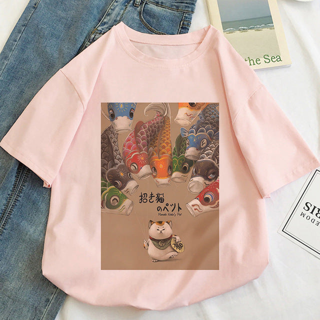 Women's printed T-shirt