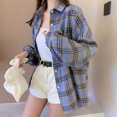 women's Plaid jacket