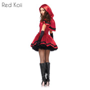 Halloween Costume Little Red Riding Hood Cosplay Suit.