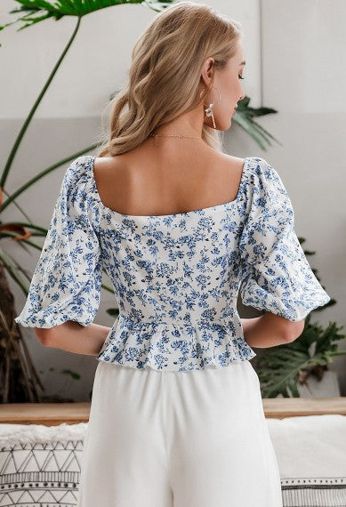 Flower Lantern blouse