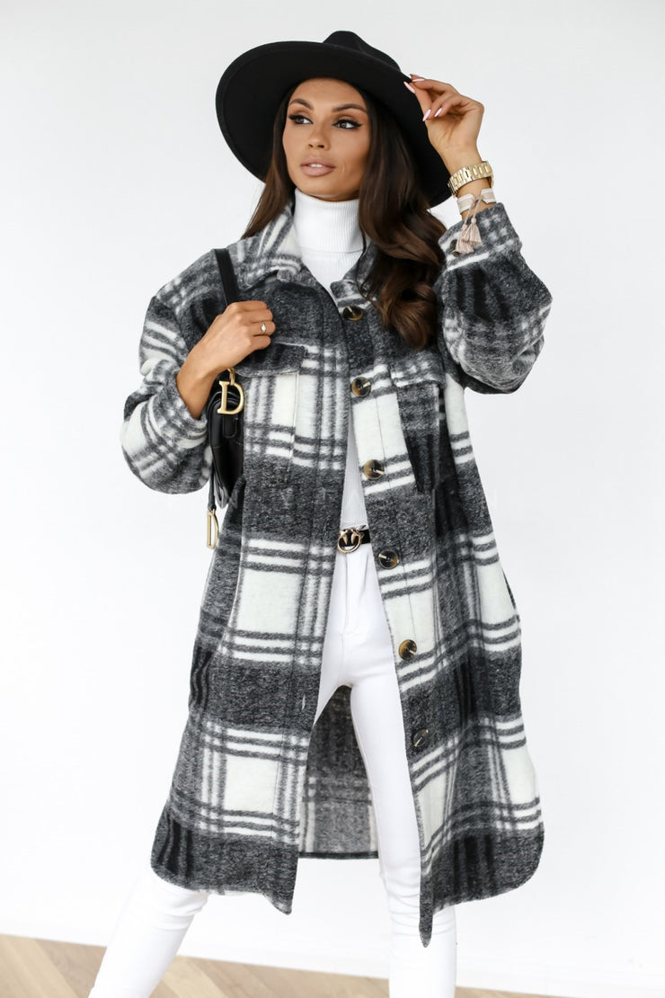Shacket Outerwear woolen coat