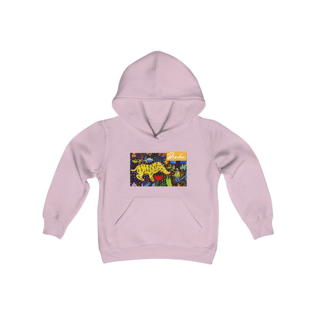 Youth  Blend tiger Hooded Sweatshirt.