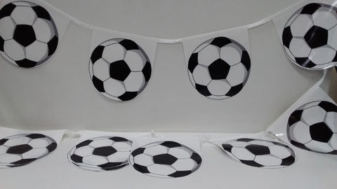 Soccer Ball 4m String Flags bunting