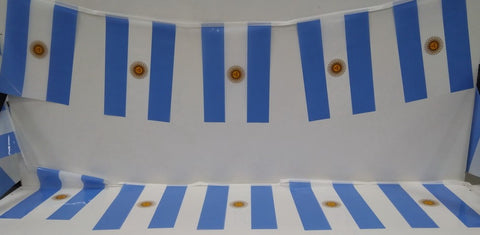 Argentina string flags