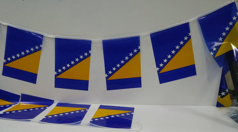 Bosnia Herzegovina string flags