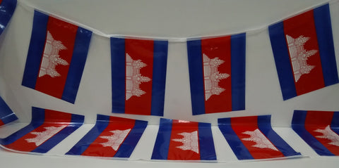 Cambodia string flags