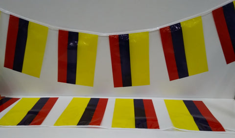 Colombia string flags