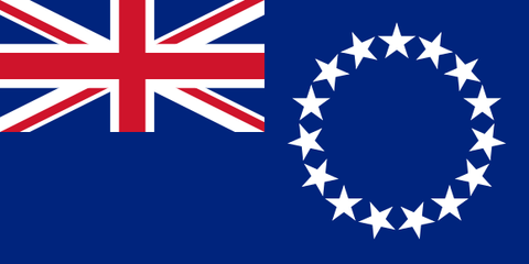 Cook Islands Waver Flag