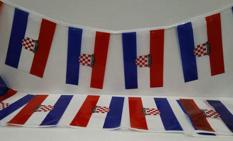 Croatia String flags