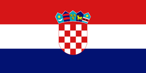 Croatia Waver Flag