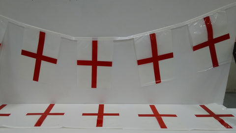 England St George String flags