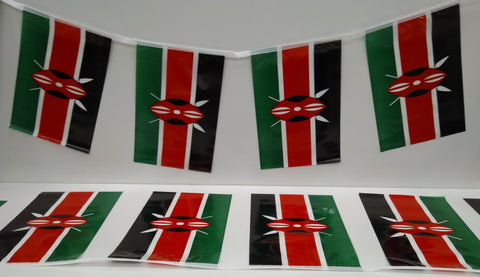 Kenya String Country Flags