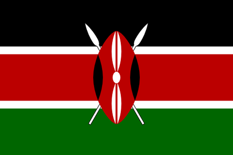 Kenya Waver Flag