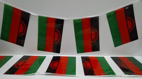 Malawi String Country Flags