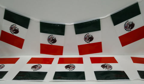Mexico String Country Flags