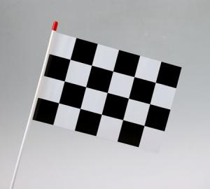 Motor Racing Check Waver Flag