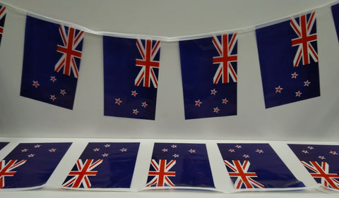 New Zealand String Country Flags