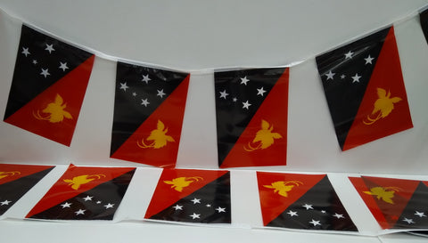 Papua New Guinea string country flags