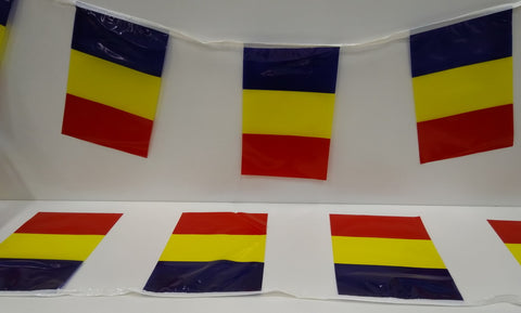 Romania String Country Flags