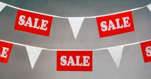 Sale Bunting 10m