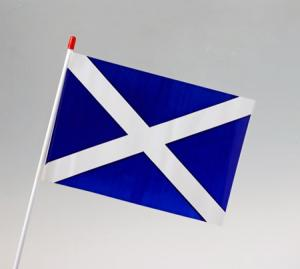 Scotland (St Andrews Cross) Waver Flag