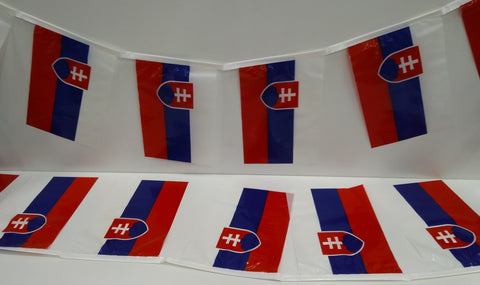 Slovakia String Country Flags