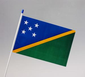 Solomon Islands Waver Flag