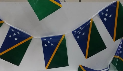 Solomon Islands String Country Flags