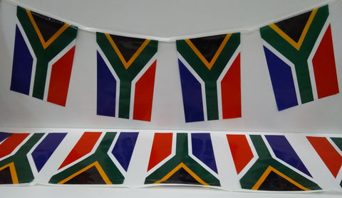South Africa String Country Flags
