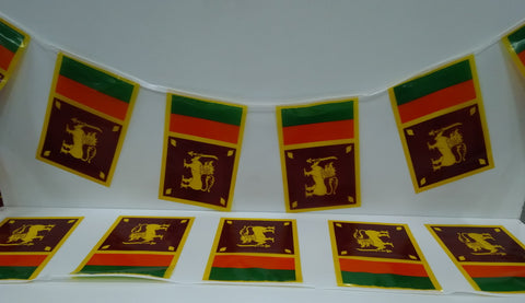 Sri Lanka String Country Flags