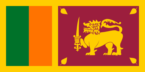 Sri Lanka Waver Flag