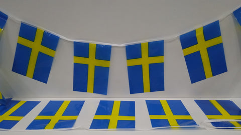 Sweden String Country Flags