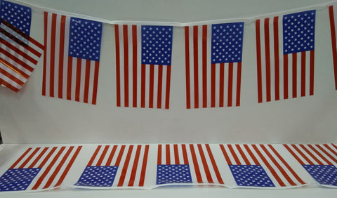 USA String Country Flags