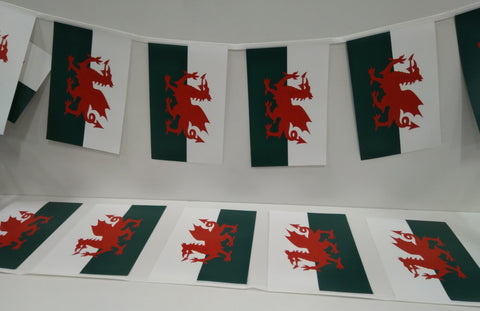 Wales String Country Flags
