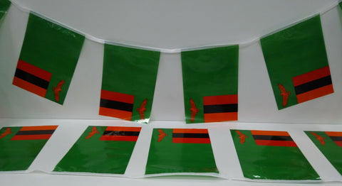 Zambia String Country Flags