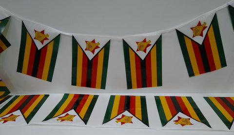 Zimbabwe String Country Flags