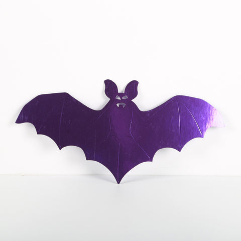 3 Pack 28.5cm Foilboard Bat Purple