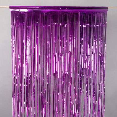 cerise door tinsel 2m drop 90cm wide