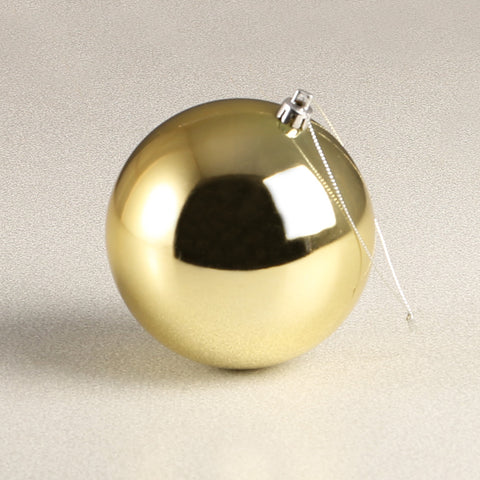 Gold Glossy Bauble 100mm