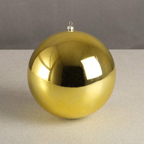 Gold Glossy Bauble 150mm