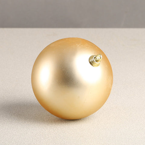 Gold Matte Bauble 100mm