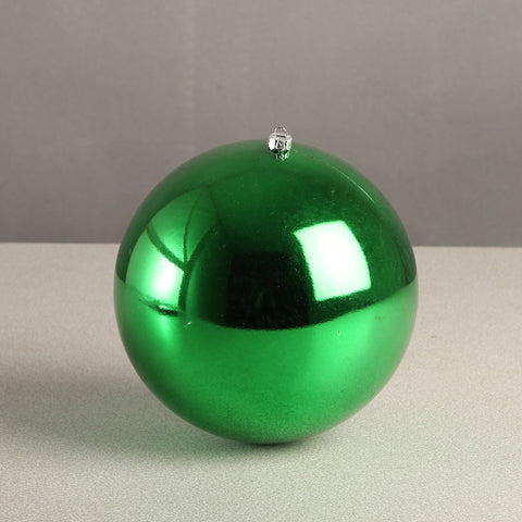 Green Glossy Bauble 100mm
