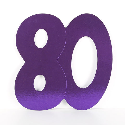 3 Pack 14cm Foilboard Purple 80